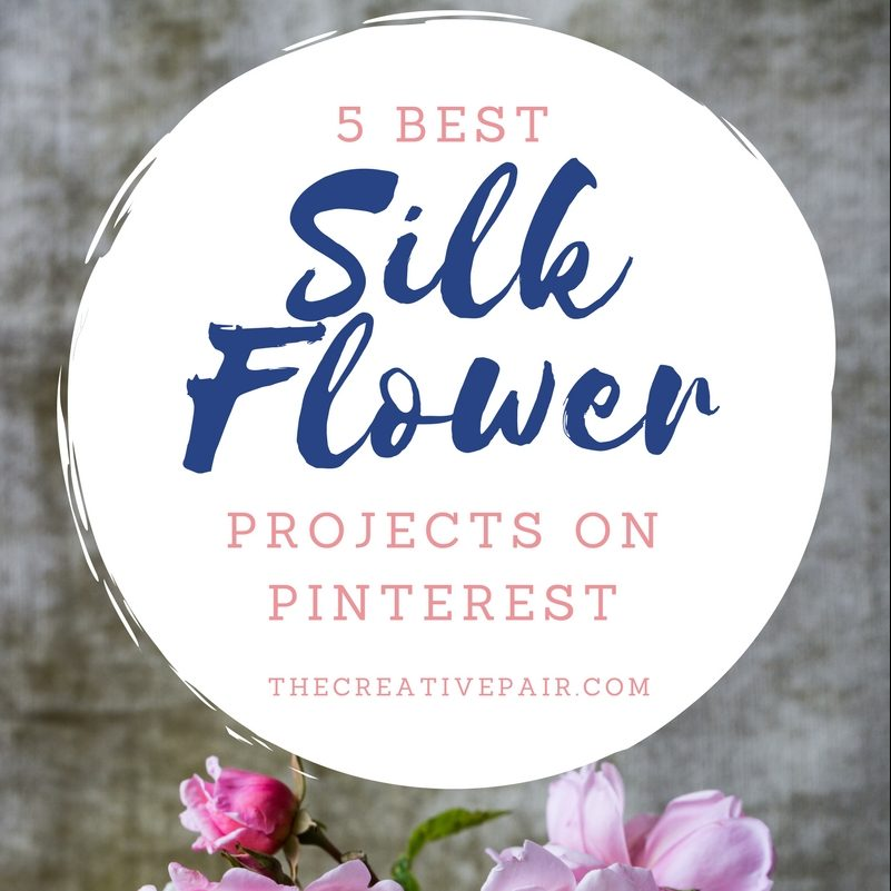 BEST SILK FLOWER PROJECTS ON PINTEREST