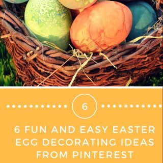 6 FUN AND EASY EASTER EGG DECORATING IDEAS FROM PINTEREST